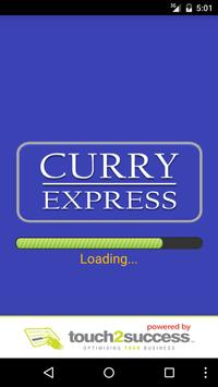 Curry Express Arbroath poster