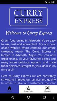 Curry Express Arbroath screenshot 1