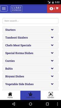 Curry Express Arbroath screenshot 2