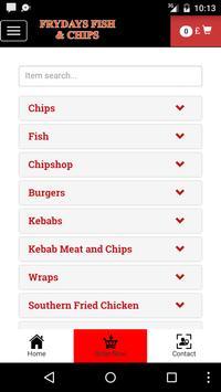 Frydays Fish & Chips screenshot 2