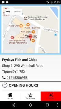 Frydays Fish & Chips screenshot 3