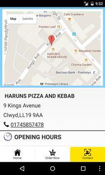 Haruns Pizza And Kebab apk screenshot