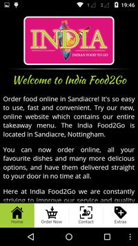 India Food2Go apk screenshot