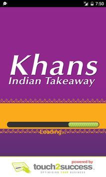 Khans Takeaway poster