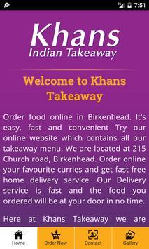 Khans Takeaway screenshot 1