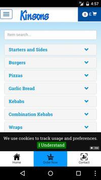 Kinson Kebabs apk screenshot