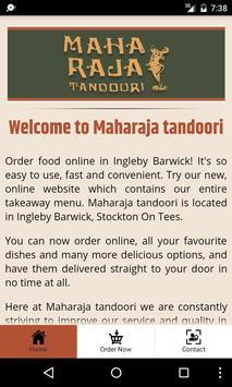 Maharaja Tandoori apk screenshot