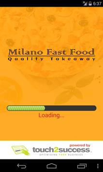 Milano Fast Food poster