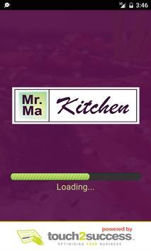 Mr Ma Kitchen poster
