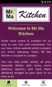 Mr Ma Kitchen screenshot 1