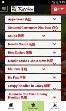 Mr Ma Kitchen screenshot 2