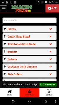 Pizza Marinos Kings Heath screenshot 2
