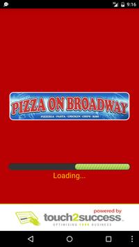 Pizza On Broadway poster