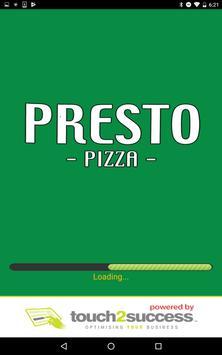 Presto Pizza Yarm poster