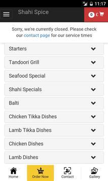 Shahi Spice screenshot 2
