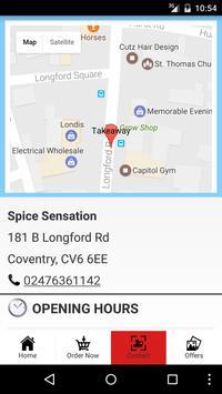 Spice Sensation Coventry screenshot 3