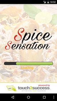 Spice Sensation Coventry poster