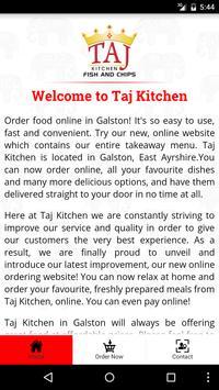 Taj Kitchen screenshot 1