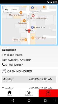 Taj Kitchen screenshot 3