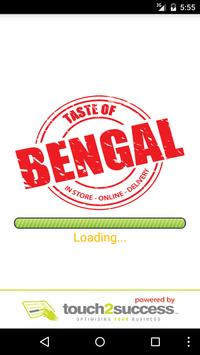 Taste of Bengal Connahs poster