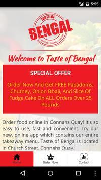 Taste of Bengal Connahs screenshot 1