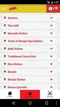 Taste of Bengal Connahs screenshot 2