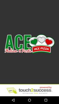 Ace Pizza Leigh poster