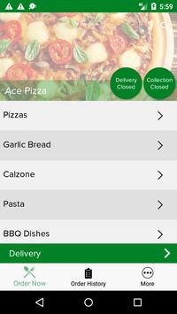 Ace Pizza Leigh screenshot 1
