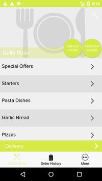 Bella Pizza screenshot 3