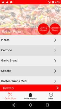 Boston Pizza screenshot 1