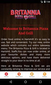 Britannia Pizza & Grill screenshot 1