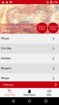 Dante's Fish Chips & Kebab screenshot 2