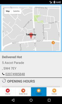 Delivered Hot screenshot 3