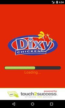 Dixy Chicken Dagenham poster