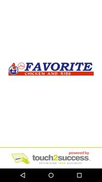 Favorite Chicken And Ribs Affiche