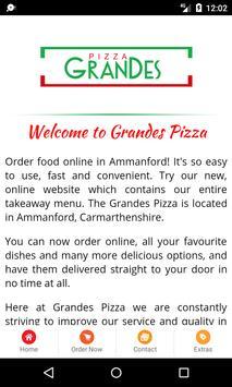 Grandes Pizza screenshot 1