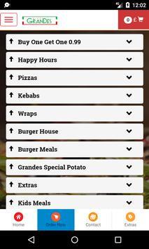 Grandes Pizza screenshot 2