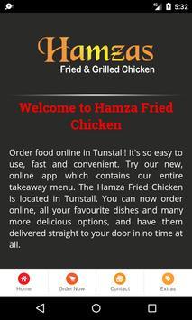 Hamza Fried Chicken apk screenshot
