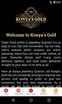 Konya's Gold poster