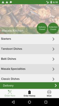 Masala Kitchen screenshot 1