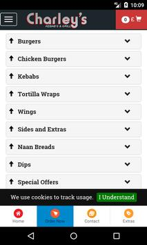 Charley's Kebabs And Grill screenshot 2