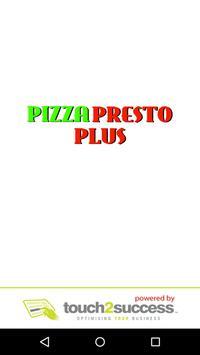 Pizza Presto Plus poster