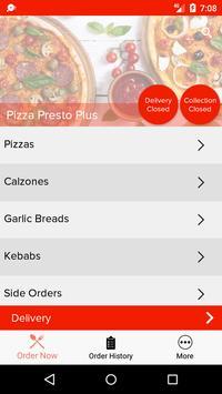 Pizza Presto Plus screenshot 1