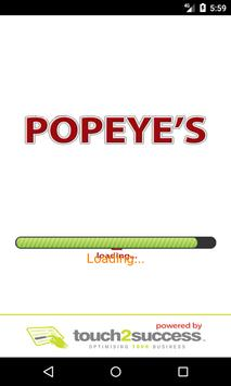 Popeye's Cleator Moor poster