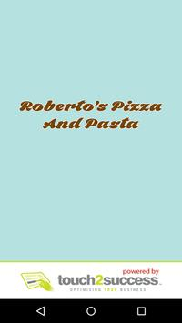 Roberto's Pizza And Pasta poster