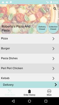 Roberto's Pizza And Pasta screenshot 1