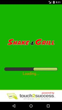 Shake & Grill Walsall poster