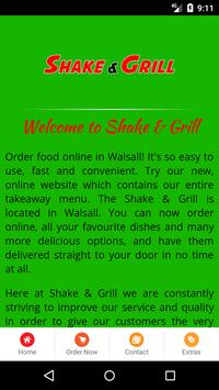 Shake & Grill Walsall screenshot 1