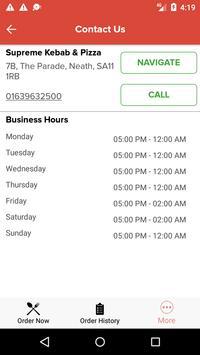 Supreme Kebab & Pizza screenshot 3