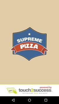 Supreme Kebab & Pizza poster
